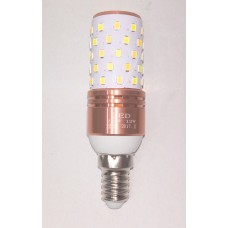 Bec led E14 12W doua culori (6400k+3200K)
