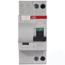 Intrerupator Automat Diferential ABB 10A, 1P+N 30mA