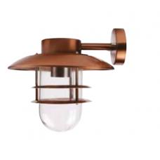 Lampa de gradina cupru 1XE27