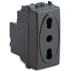 Priza 2P+T 10 16A 250V fume - Master Modo 31159