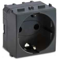 Priza 2P+T 16A 250V fume 2 mod- Master Modo 31176