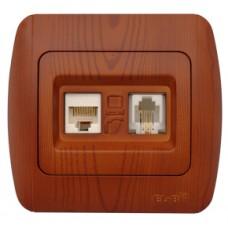 Priza internet UTP + telefon cires S.T. - Zirve